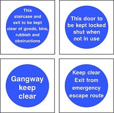 NO 1 Fire Prevention Fire Safety Signs 50mm,85mm,100mm,150mm