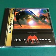 Radiant Silvergun Sega Saturn SS Treasure Used Japan Shooter Boxed Tested 1998