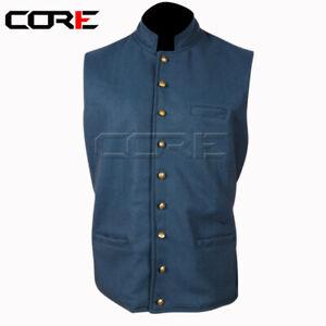 Civil War Vest, Civil war Sky blue vest All Sizes Available !