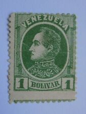 (1) mhh Venezuela stamp off paper-Scott # 73-Bolivar