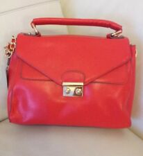 BNWT Accessorize Monsoon Red Messenger Satchel Shoulder Bag Detachable Strap