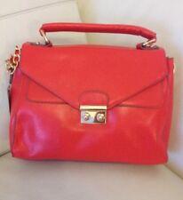 BNWT Accessorize Monsoon Red Messenger Satchel Shoulder Bag Detachable Strap