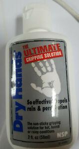 ORIGINAL Dry Hands 59ml 2oz Poledance Golf Baseball Sport Grip Powder NEU