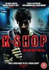 K - Shop (DVD) Hack N Slash Horror Movie - UK NEW STOCK - Dan Prinkle