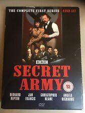 Secret Army The Complete BBC Series 1 (4 DVD Box set) Jan Francis Bernard Hepton