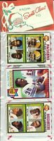 1979 Topps Football Holiday Christmas Rack Pack HOF Newsome Shell Campbell RC?L8