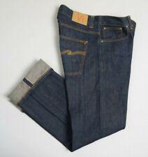 NUDIE JEANS Mens Jeans W33 L34 Regular Ralf Denim DRY Selvage Indigo polloi