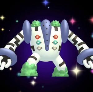 Pokémon Go *Shiny Legend Regigigas Boosted * Mini Acc PTC - Trade Go (DESCRIBE)