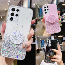 GLITTER Case For Samsung Galaxy S21 Plus,A12,S20 FE Shockproof Protective Cover