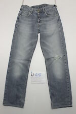 Lee leola zampa vita bassa jeans donna usato (Cod.U48) Tg.43 W29 L31 vintage