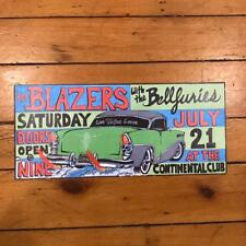 The Blazers with The Bellfuries Concert Promo Poster