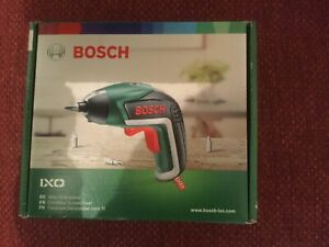 Bosch IXO Cordless Screwdriver with Integrated 3.6 V Lithium-Ion Battery / New