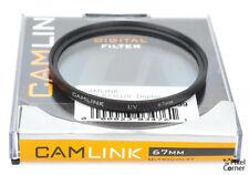 Camlink 67mm UV Camera Lens Filter + Case - Protect your lens!