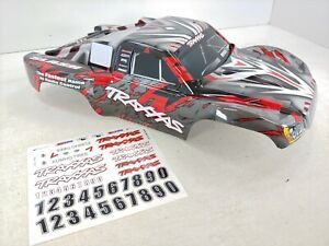 *NEW* Traxxas Slash 2wd / 4x4 Factory Painted RED Short Course Truck Body Decal
