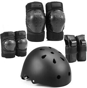 Kids Bike Helmet, Toddler Helmet Adjustable for Kids Youth, Knee  (Black,Size:S)