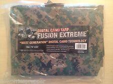 New! MARPAT CAMO Survival Shelter Emergency Tarp Prepper Zombie Bug Out Bag USMC