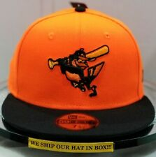 Baltimore Orioles~MLB~New Era~59FIFTY~Authentic~2018 Player's Collection~Orange
