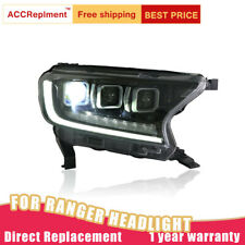 For Ford Ranger Headlights assembly ALL LED Lens Projector LED DRL 2016-2019