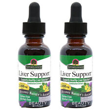 LIVER FUNCTION SUPPORT healthy complex supplement Nature's Answer pack of 2
