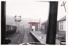 PHOTO  CYMEN RAILWAY STATION VIEW FROM LOCO CAB 18-10-68