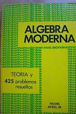 Algebra Moderna Schaum Mc Graw-Hill Frank Ayres, Jr