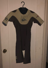 Brand NEW Quiksilver SYNCRO Hyperstretch S 48 Wetsuit Brown