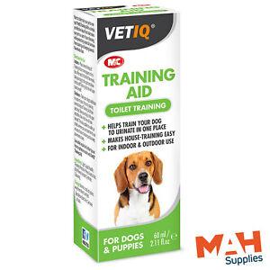 VetIQ Training Aid 60ml Toilet Training Dogs & Puppies House Training Train-UM