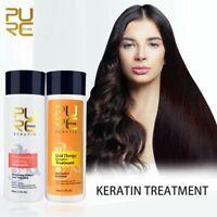 Gold Therapy Keratin Treatment New Advanced Formula Hair Care Repair Damaged