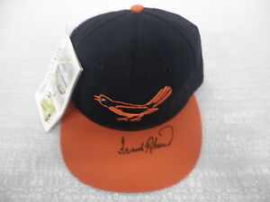 Frank Robinson Signed Auto Baltimore Orioles Cooperstown Collection Cap Hat JSA