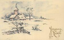 Carte pailletée - Joyeux Noel    (D9603)