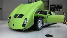 Lamborghini Miura P 400 S verde coche a escala 1 24 / Motormax