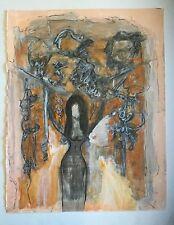 Salvador Benitez, Original Signed Nude Female Painting '03, Puerto Rico Art