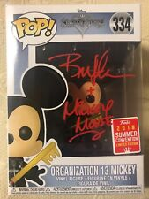 Bret Iwan Signed Autographed Organization 13 Mickey Mouse Funko Pop Disney JSA