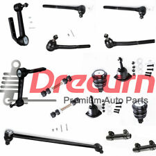 12pc Front Inner Outer Tie Rod Ends Idler Arms Detroit Axle 2WD ONLY Ball Joints /& Adjusting Sleeves Kit for 1990-2005 Chevrolet Astro//GMC Safari