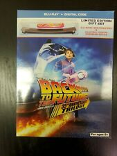 Back To the Future 35th Anniversary Trilogy Blu Ray Target Exclusive Hoverboard