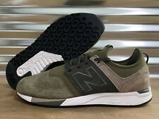 New Balance 247 Luxe Suede Shoes Olive Green SZ ( MRL247RG )
