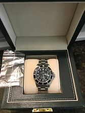 Rolex Submariner Stainless Steel Watch Black Dial & Bezel Date PERFECT !