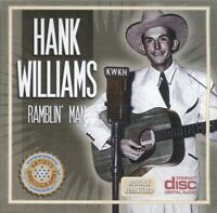 HANK WILLIAMS ~ Ramblin' Man ~ CD Album ~ EC ~ FREE POST!