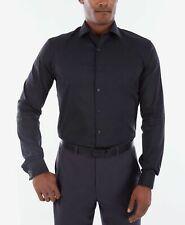 $125 KENNETH COLE REACTION Men SLIM-FIT WHITE LONG-SLEEVE DRESS SHIRT 15.5 32//33