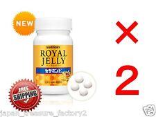 LOT 2 Suntory Royal Jelly Sesamin E for 60days anti aging amino acid Japan