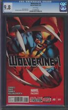 Wolverine #1, CGC 9.8, 1st Print, White Pages