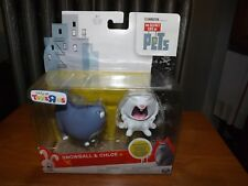 The Secret Life Of Pets, Snowball & Chloe Toysrus 2 Figure Pack, New In Package