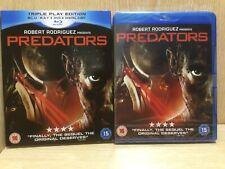 Predators Triple Play Edition Blu Ray + DVD New & Sealed Robert Rodriguez