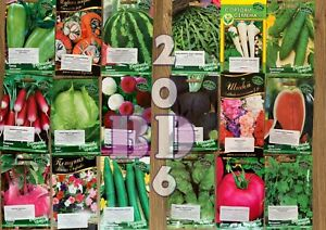 Garden Quality Seeds_Flowers_Herbs _Vegetable_Fruit_Seeds _Original Packing