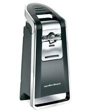 Hamilton Beach Smooth Touch Deluxe Can Opener Electric Kitchen Black And Chrome