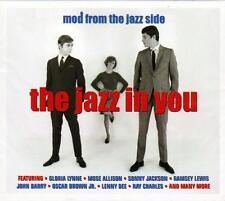 THE JAZZ IN YOU - MOD FROM THE JAZZ SIDE - VARIOUS ARTISTS (NEW SEALED 2CD)
