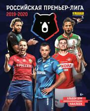 2019/20 PANINI Russian Football Premier League RPL RFPL Soccer BOX ALBUM SET