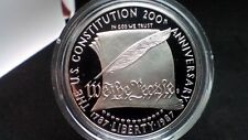 New listing 1987 S Constitution Silver Dollar Us Mint $1 Coin Only