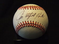 "Jim ""Catfish"" Hunter Hall of Fame 1987 Autographed Baseball"