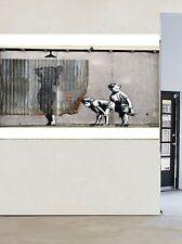huge Graffiti Street Art shower girl boys  Large Canvas painting custom